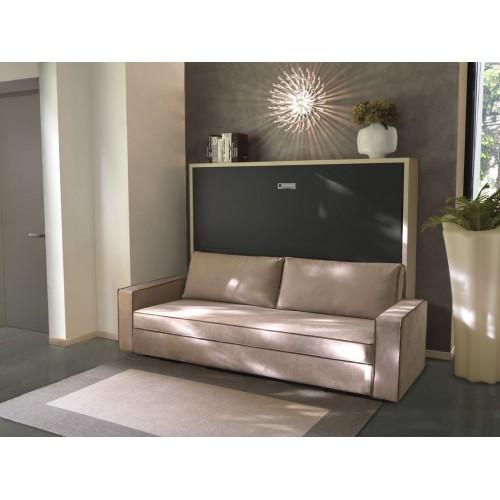 Armoire-Lit avec canapé Space