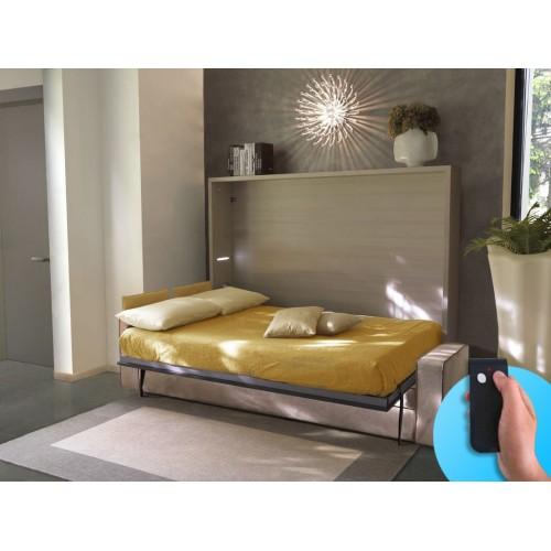 Armoire-Lit avec canapé Space électrique