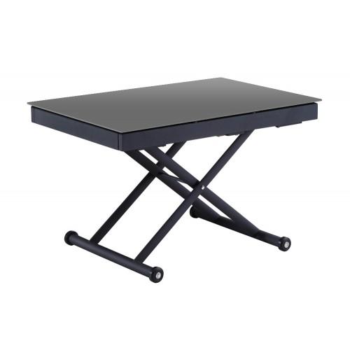 Table relevable 3 allonges Vivaldi GRIS 2m55 14 couverts