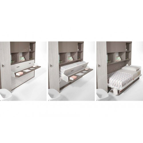 Armoire-Lit horizontale SOTTILE